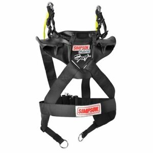 Simpson Safety Hs yth 11 sas Youth Hybrid Sport With Seat Belt Anchor System