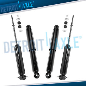 Dodge Ram 1500 Shock Absorbers Assembly For All Front Rear Left And Right 2wd