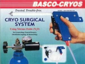Cryo System Gynaecology With 5 Probes Using Nitrous Oxide For Dermatology