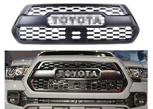 Fits 16 19 Toyota Tacoma Grille Mesh Front Hood Bumper Grille