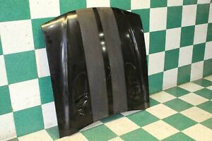 96 98 Mustang Cobra Hood Bonnet Air Vent Scoops Black Painted fading Sripes Oe