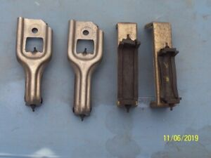 1971 73 Ford Mustang Original Upper And Lower Radiator Mounts W Related Parts