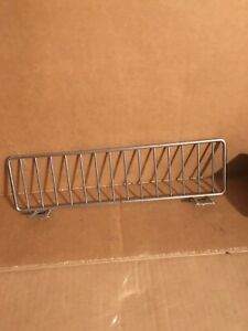 Lot Of 25 Gondola Shelf Fence Fencing Dividers 11 x3 Chrome 11 X 3