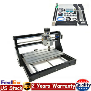 3 Axis 3018 Cnc Mini Laser Engraving Machine Pcb Wood Carving 500mw Laser Head