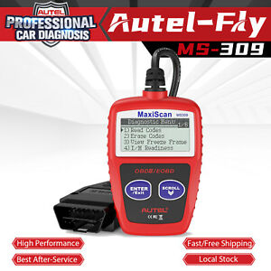 Autel Maxiscan Ms309 Obd2 Can Auto Diagnostic Tool Engine Code Reader Scanner