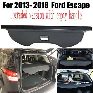 For 2013 2019 Ford Escape Tailgate Trunk Cargo Cover Luggage Shade Shield Guard