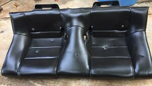 2007 Ford Mustang V6 Convertible Rear Lower Seat Cushion Leather Oem