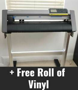 Graphtec Ce6000 60 Vinyl Cutter Plotter Stand Free Roll Of Vinyl