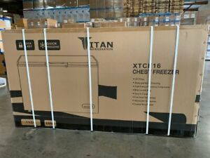 Free Freight Liftgate New Commercial Chest Freezer 16 Cubic Feet White 60 Inches