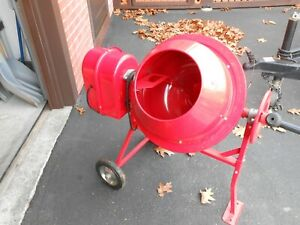 Central Machinery Mini Cement Mixer Never Used