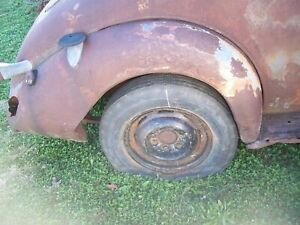 1937 Chevy Steel Rear Fender Gasser Drag 37 1938 Conv Sedan Jalopy Rat Rod Hot