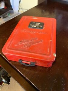 Snap On Vwb800b Set With Steel Index Case Case Only
