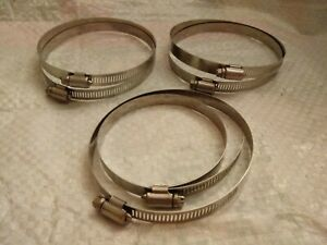 6 Original Wittek Sure Tite 4 5 72 100 Stainless Steel Hose Clamps Band 4 5