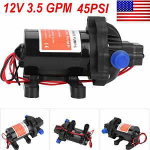 Dc 12v Water Pump Self Priming Pump Diaphragm High Pressure Automatic Switch Usa