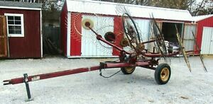 Used M w V8 Hay Rake free 1000 Mile Free Delivery From Kentucky