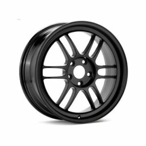 Enkei 3796804938bk Rpf1 16x8 4x100 38mm Offset 73mm Bore Black Wheel Miata 4 lug