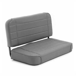 Smittybilt 8011n Standard Rear Seat charcoal For 55 95 Jeep Wrangler Yj And Cj