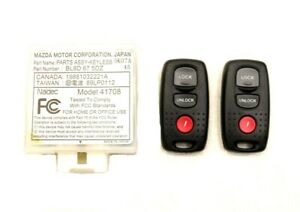 New Oem Ford Keyless Entry Remote Fob Module 6e7z 15604 aa Lcf Truck 2006 2010