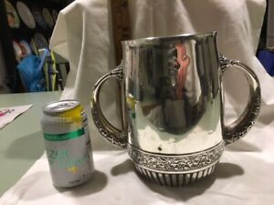 C1890 Whiting Sterling Silver Handled Trophy Urn Victorian 8 766 Grams 6 Pints