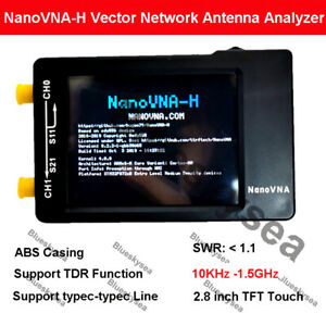 Nanovna h 50khz 900mhz Vector Antenna Network Analyzer Uhf Hf Uv Vna Vhf Shell