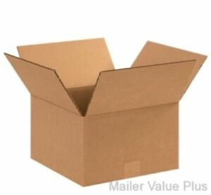 75 12 X 12 X 8 Shipping Boxes Packing Moving Cartons Cardboard Mailing Box