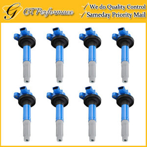 Performance Ignition Coil 8pcs Pack For 2011 2016 Ford F 150 Mustang 5 0l V8