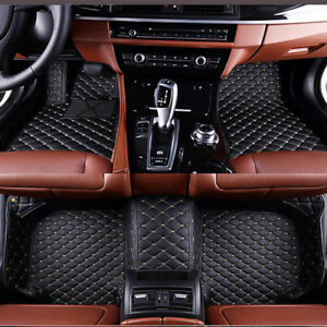 Car Floor Mats Only For Ford Mustang Coupe 2014 2018 Waterproof Car Mats Liner