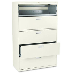 Hon 600 Series 5 Drawer Lateral File 42 18 64 Putty hon695ll Brand New