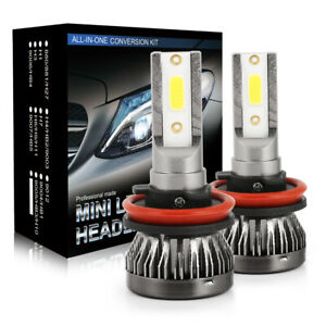 H11 Led Headlight H9 H8 Fog Light Kit 280000lm Cree Bulbs High Power Fog Lamps