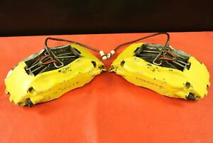 Porsche 911 993 Front Original Brembo Disc Brake Calipers Left Right Pair Oem