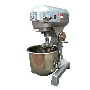10l Commercial Dough Mixer Bakery Dough Food Cake Mixing Machine Blender 220v Y