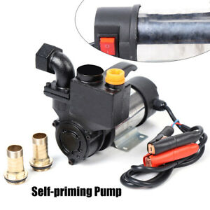 Electric 220w Self Priming Water Circulation Pump Water Pump 24v Double Suction