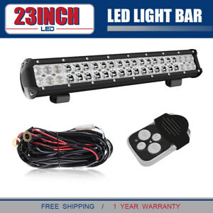 126w 20 Led Light Bar Fits For Jeep Compass Base Sport Utility 4 door