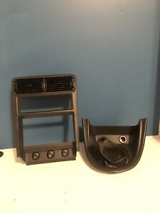 Ford Mustang Radio Shifter Bezel Double Din Trim Gt Cobra 99 04 Black Manual