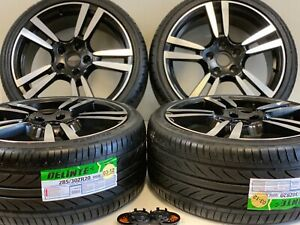20 Wheels Rims Tires Fit Porche Cayenne Panamera Gts Turbo Style Staggered Tire