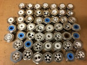 Lot Of 52 Stainless Steel Cable Glands Wire Grommets Waterproof