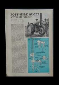 Post hole Auger From A Salvaged Differential Diy Info Plans