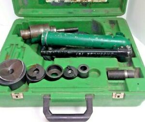 Greenlee 7306 Hydraulic Knockout Hand Pump 767 Ram