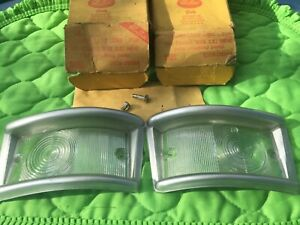 A Pair Of 1961 1967 Ford Econoline Parking Light Lenses