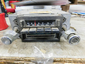 1976 Ford Thunderbird Lincoln Mark Iv Am Fm 8 Track Stereo Radio Tested Working