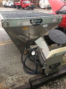 Smith Salt Spreader Stainless Steel Hd Pickup Dump Bed Mounted 9 Hydraulic