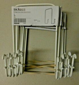 Ikea Skadis Hook White Lot Of 9 1914