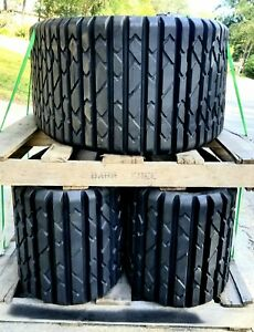 Two Genuine Oem Cat Skid Steer Rubber Tracks never Used Track 325 8625