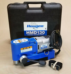 Hougen Hmd130 Ultra Low Profile Magnetic Mag Drill Press Annular Cutter