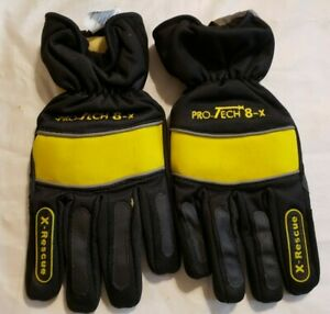 Pro tech 8x pt 8x Gloves Firemen Rescue Law Enforcement Xxlarge