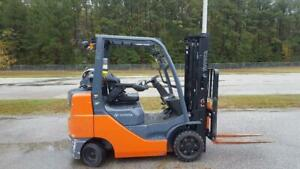 2015 Toyota 8fgcu30 Forklift Truck Lift To 131 5 Ss Low Hour