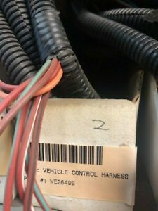 Western Snow Plows Vehicle Control Harness 26498