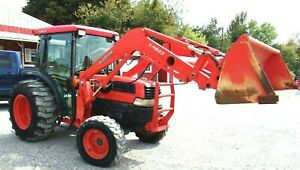 Kubota L4630 Gst Tractor 4x4 Loader Cab Free 1000 Mile Delivery From Kentucky