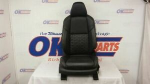 16 Nissan Maxima Passenger Right Front Bucket Seat Black Leather