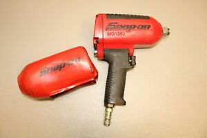 Snap on Heavy Duty Mg1250 3 4 Drive 90 Psig 6 2 Bar Max Impact Air Wrench